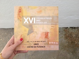 First prize of painting · XVI Prize of painting of the UNED Plasencia · 2016