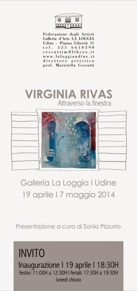Solo Show · ATTRAVERSO LA FINESTRA · Galleria La Loggia · Udine (Italia)