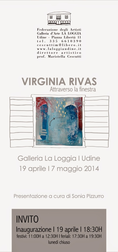 INVITO MOSTRA VIRGINIA RIVAS