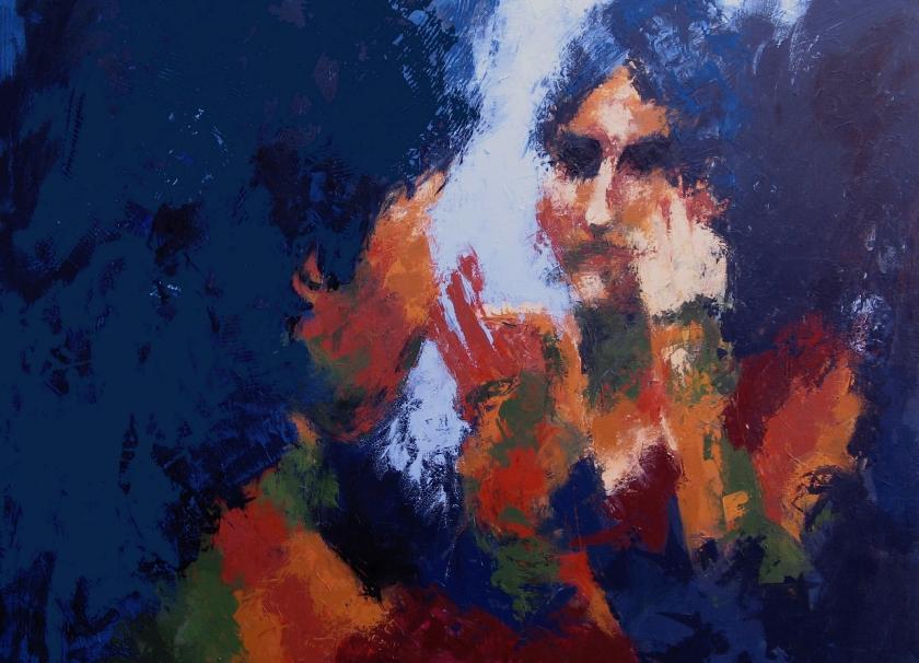 reflejo II 146 x 114 cm claro