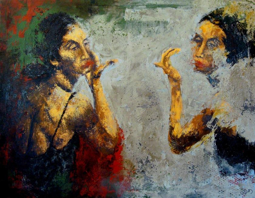 Reflejo III 146 x 114 cm