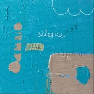 Silence-20x20cm
