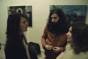 Beatriz Castela, Jorge Gil and me. Presentation project I 5 miradas. 1 destino: EXTREMADURA I Artworks for Hospedería Puente de Alconetar. Garrovillas (Cáceres)