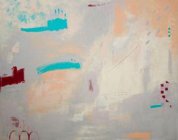 Anni y algo de música contemporánea · 2015 · 114x146 cm. /private collection/ Second Prize. XIX Indalecio Hernández Painting Prize.