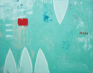 Cosiendo heridas · 2015 · 114x146 cm /private collection/ Prize-Acquisition. XIX City of Badajoz Painting Prize.