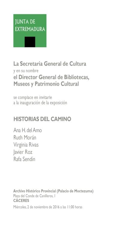 HISTORIAS DEL CAMINO · CÁCERES