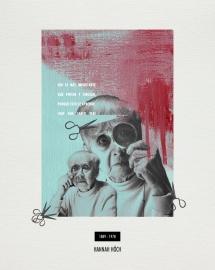 HANNAH HÖCH. Collage_papel verjurado blanco roto_30x24cm/18x13cm. V.Rivas. #ForSale