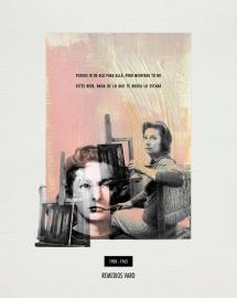 REMEDIOS VARO. Collage_papel verjurado blanco roto_30x24cm/18x13cm. V.Rivas. #ForSale