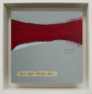 LOVE Burns · 2017 · 26 x 26 cm